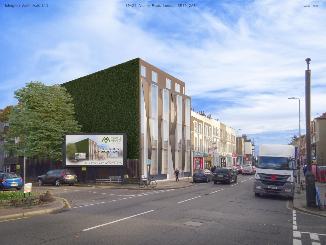 19-21 Anerley Road - Proposed View